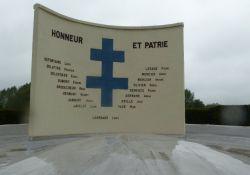 Schild 'Honneur et Patrie'
