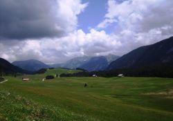 Glières: Blick auf das Plateau
