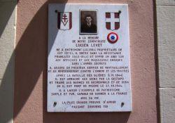 Gedenktafel Lucien Levet