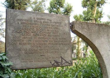 Denkmal für Radio Cora (Foto: Baldini)