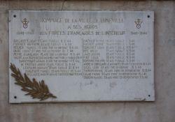 FFI-Gedenktafel Bosquets