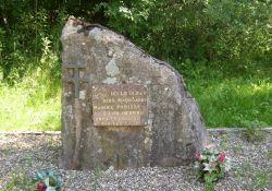 Gedenkstein für M. Parisse