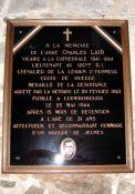 Gedenktafel Abbé Lair (© Michel Cantillon, genweb)