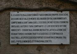 Gedenktafel für die Opfer von St. Anna