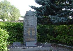 Denkmal am israelitischen Friedhof