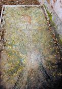 Grabplatte Maurice Choury (© Thomas A. Schmidt)