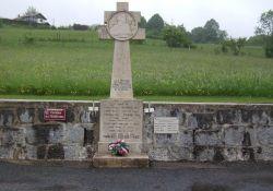 Denkmal an getötete Maquisards