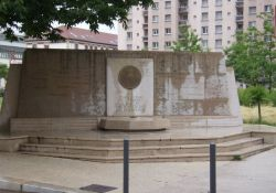 Denkmal 20 erschossene Vercors-Patrioten