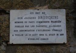 Gedenktafel Bruschini