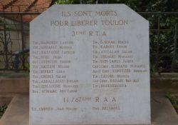 Gedenkstein für algerische Befreiungssoldaten (Place Louis Charry)