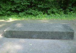Granitblock mit Namen