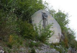"""Skulptur """"Den Märtyrern des Vercors"""""""