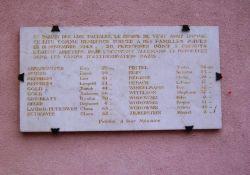 Tafel am Hôtel des Marquisats