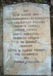 Tafel an der Gedenkstätte (Foto: Baldini)