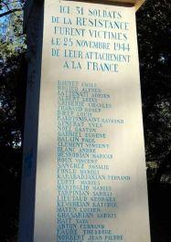 Denkmal (neu gestaltet); Quelle: cvrduvaucluse.canalblog